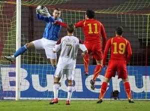Матч с Македонией, квалификация Евро-2012