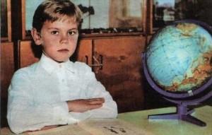 Игорь в школе.